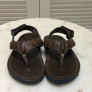 Other - Brown leather sandals